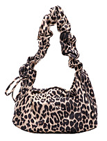 cheap -Women's Bags Canvas Crossbody Bag Hobo Bag Zipper Leopard Print Daily Going out 2021 Dark Brown Brown