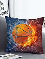 cheap -Cushion Cover with or without Pillow Insert Double Side Print 38x38cm / 45x45cm Polyester