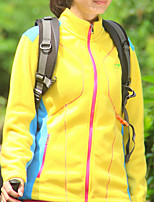 cheap -Women's Hiking Jacket Hiking Windbreaker Winter Outdoor Solid Color Lightweight Windproof Quick Dry Warm Top Fishing Climbing Running Purple Yellow Blue Rose Red