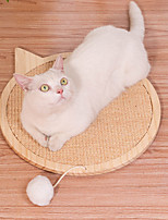 cheap -Cat Scratcher Mat Cat Scratching Carpet Pad Solid Colored Relieves Stress Washable For Indoor Use Fabric for Large Medium Small Dogs and Cats