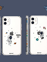 cheap -Playing with Logo Case For Apple iPhone 12 12mini 12Pro max / iPhone 11 11Pro  11Pro max / iPhone X XS XR Shockproof / Pattern Back Cover Playing with Apple Logo Case for iPhone IX Max iPhone 8plus 7plus 8 7