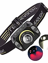 cheap -headlamp led, lightweight usb rechargeable headlamp, 5 modes, very bright, waterproof mini headlamp for camping, fishing, running, jogging, hiking, reading, working (b)