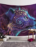 voordelige -Wandtapijten art decor deken gordijn opknoping thuis slaapkamer woonkamer decoratie polyester kleurrijke dieren