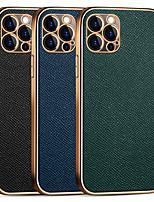 cheap -Genuine Leather Case For Apple iPhone 11 11Pro 11Pro Max 12 12Mini 12Pro 12Pro Max Unique Design Protective Case Shockproof  Case for iPhone 12 Pro Max XR XS Max iPhone 8 7