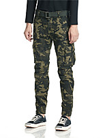 cheap -Men's Hiking Pants Trousers Hiking Cargo Pants Camo Outdoor Breathable Thick Anti-tear Multi-Pockets Cotton Bottoms Army Green Dark Gray Light Grey Hunting Fishing Climbing 28 29 30 36 38