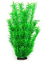 cheap -Fish Tank Anacharis Arquatic Plant Fish Bowl Plants Red Cute Special Material 38 cm