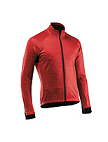 cheap -Men's Long Sleeve Downhill Jersey Red Dark Green Coffee Bike Jersey Sports Clothing Apparel