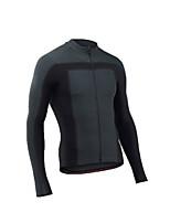 cheap -Men's Long Sleeve Downhill Jersey Black / Red Black / Yellow Grey Bike Jersey Sports Clothing Apparel
