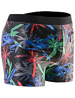 cheap -Men's Swim Shorts Swim Trunks Board Shorts Breathable Quick Dry Drawstring - Swimming Surfing Water Sports Painting Summer / Plus Size