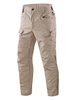 cheap -Men's Hiking Pants Trousers Hiking Cargo Pants Tactical Pants Solid Color Outdoor Windproof Breathable Multi-Pockets Wear Resistance Cotton Bottoms Light Yellow Jungle camouflage Black Camouflage Grey
