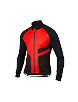 cheap -Men's Long Sleeve Downhill Jersey Black / Red Black+White Black / Blue Bike Jersey Sports Clothing Apparel