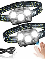 cheap -head torch led rechargeable for jogging children head torch ipx5 waterproof with red light