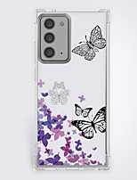 cheap -Butterfly Case For Samsung Galaxy S21 Galaxy S21 Plus Galaxy S21 Ultra Unique Design Protective Case Pattern Back Cover TPU