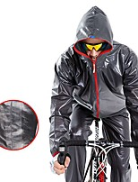 cheap -Men's Cycling Jersey with Tights Waterproof Hiking Jacket Outdoor Waterproof Portable Lightweight Windproof Raincoat Poncho Top Cycling / Bike Camping / Hiking / Caving Traveling White Black Green