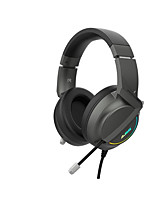 cheap -AJAZZ AX365 Gaming Headset USB Wired Ergonomic Design Stereo Dual Drivers with Microphone with Volume Control for Gaming PlayStation Xbox PS4 Switch