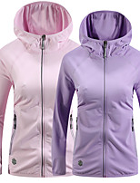 cheap -Women's Hoodie Coat Zipper Cowl Neck Spandex Solid Color Sport Athleisure Hoodie Long Sleeve Breathable Sweat Out Comfortable Everyday Use Street Casual Daily