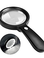 cheap -Magnifying Glass with Light, 10X Handheld Large Magnifying Glass 12 LED Illuminated Lighted Magnifier for Macular Degeneration, Seniors Reading, Soldering, Inspection, Coins, Jewelry, Exploring
