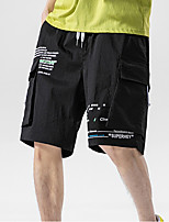 "cheap -Men's Hiking Shorts Summer Outdoor 12"" Regular Fit Breathable Soft Comfortable Wear Resistance Cotton Shorts Black Red Grey Khaki Green Hunting Fishing Climbing M L XL XXL XXXL"
