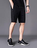 "cheap -Men's Hiking Shorts Summer Outdoor 12"" Regular Fit Breathable Sweat wicking Spandex Shorts Black Beach Traveling M L XL XXL XXXL"