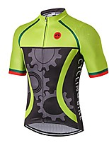 cheap -cycling jersey mens bike jerseys bicycle ropa ciclismo maillot road mtb tops mountain bike jersey summer outoor sports shirt breathable gear green size m