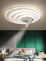 cheap -62 cm LED Ceiling Light Dimmable Light With Spot Light Circle Design Flush Mount Lights Metal Artistic Style Stylish Painted Finishes Artistic 110-120V 220-240V