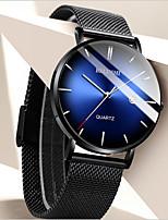 cheap -Men's Dress Watch Analog Quartz Sporty Stylish Calendar / date / day / One Year / Stainless Steel / Titanium Alloy