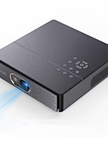 cheap -K9 3D Projector LED Wireless Display DLP Link Projector Android 6.0 WIFI Projector