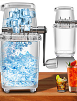 cheap -Ice Blender Portable Manual Ice Crusher Multi-function Hand Shaved Ice Machine Ice Chopper for Bar Home Cooling in Summer