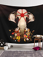 cheap -Wall Tapestry Art Decor Blanket Curtain Hanging Home Bedroom Living Room Decoration Polyester Elephant