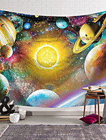 cheap -Wall Tapestry Art Decor Blanket Curtain Hanging Home Bedroom Living Room Polyester Colourful Planet