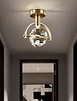 cheap -19 cm Lantern Desgin Flush Mount Lights Copper Brass Modern 110-120V 220-240V