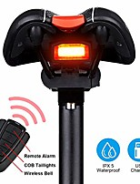 cheap -bike tail light rechargeable, anti-theft alarm, warning electric horn, bike finder/tracker with remote, ipx6 waterproof electric mountain bike accessories