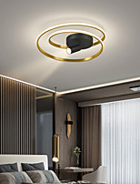 cheap -45/55 cm Circle Design Flush Mount Lights Aluminium Alloy Modern Style Stylish Painted Finishes LED Modern 220-240V