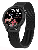 cheap -F80 Smartwatch for Android iOS Samsung Apple Xiaomi Bluetooth 1.3 inch Screen Size IP68 Waterproof Level Waterproof Touch Screen Heart Rate Monitor Blood Pressure Measurement Sports Stopwatch