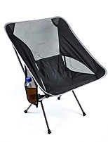 cheap -Camping Chair Multifunctional Portable Breathable Ultra Light (UL) Aluminium for 1 person Fishing Beach Camping Autumn / Fall Winter Multi color Black Pink