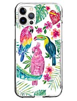 cheap -Bird Case For Apple iPhone 12 iPhone 11 iPhone 12 Pro Max Unique Design Protective Case Pattern Back Cover TPU