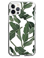 cheap -Plants Floral Botanical Case For Apple iPhone 12 iPhone 11 iPhone 12 Pro Max Unique Design Protective Case Pattern Back Cover TPU