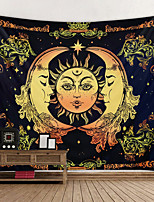 cheap -Bohemian Wall Tapestry Art Deco Blanket Curtain Hanging at Home Bedroom Living Room Decoration Boho Hippie
