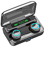 cheap -iMosi F9-3 Wireless Earbuds TWS Headphones Bluetooth Earpiece Bluetooth 5.1 Stereo with Microphone with Volume Control LED Power Display for Sport Fitness