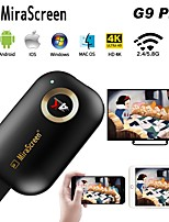 cheap -Mirascreen G9 Plus 2.4G 4K Wireless HDMI Wifi Display Dongle Mirror Airplay DLNA Receiver For Projector HDTV