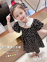 cheap -5120 breathable long skirt children's clothing 2021 new children's chiffon summer dress girls vibrato western flower dress