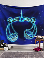 cheap -Wall Tapestry Art Decor Blanket Curtain Hanging Home Bedroom Living Room Color blue Polyester Weigh