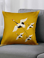 cheap -Double Side 1 Pc Bird Cushion Cover  Print 45x45cm Linen for Sofa Bedroom