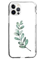 cheap -Plants Tropical Case For Apple iPhone 12 iPhone 11 iPhone 12 Pro Max Unique Design Protective Case Back Cover TPU