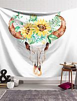 voordelige -Wandtapijten art decor deken gordijn opknoping thuis slaapkamer woonkamer decoratie polyester schedel