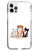 cheap -Animal Case For Apple Unique Design Protective Case Pattern Back Cover TPU