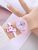 cheap -Girls' Quartz Watches Analog Quartz Stylish Minimalist Creative Large Dial