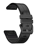 cheap -1 PCS Watch Band for Garmin Business Band Genuine Leather PU Leather Wrist Strap for Fenix 6
