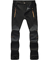 cheap -Men's Hiking Pants Trousers Patchwork Summer Outdoor Tailored Fit Waterproof Ultra Light (UL) Antistatic Quick Dry Spandex Pants / Trousers Black Army Green Grey Hunting Fishing Climbing S M L XL XXL