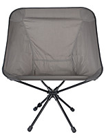 cheap -Camping Chair Portable Ultra Light (UL) Multifunctional Foldable Aluminum Alloy for 1 person Fishing Beach Camping Autumn / Fall Winter Grey / Breathable / Comfortable